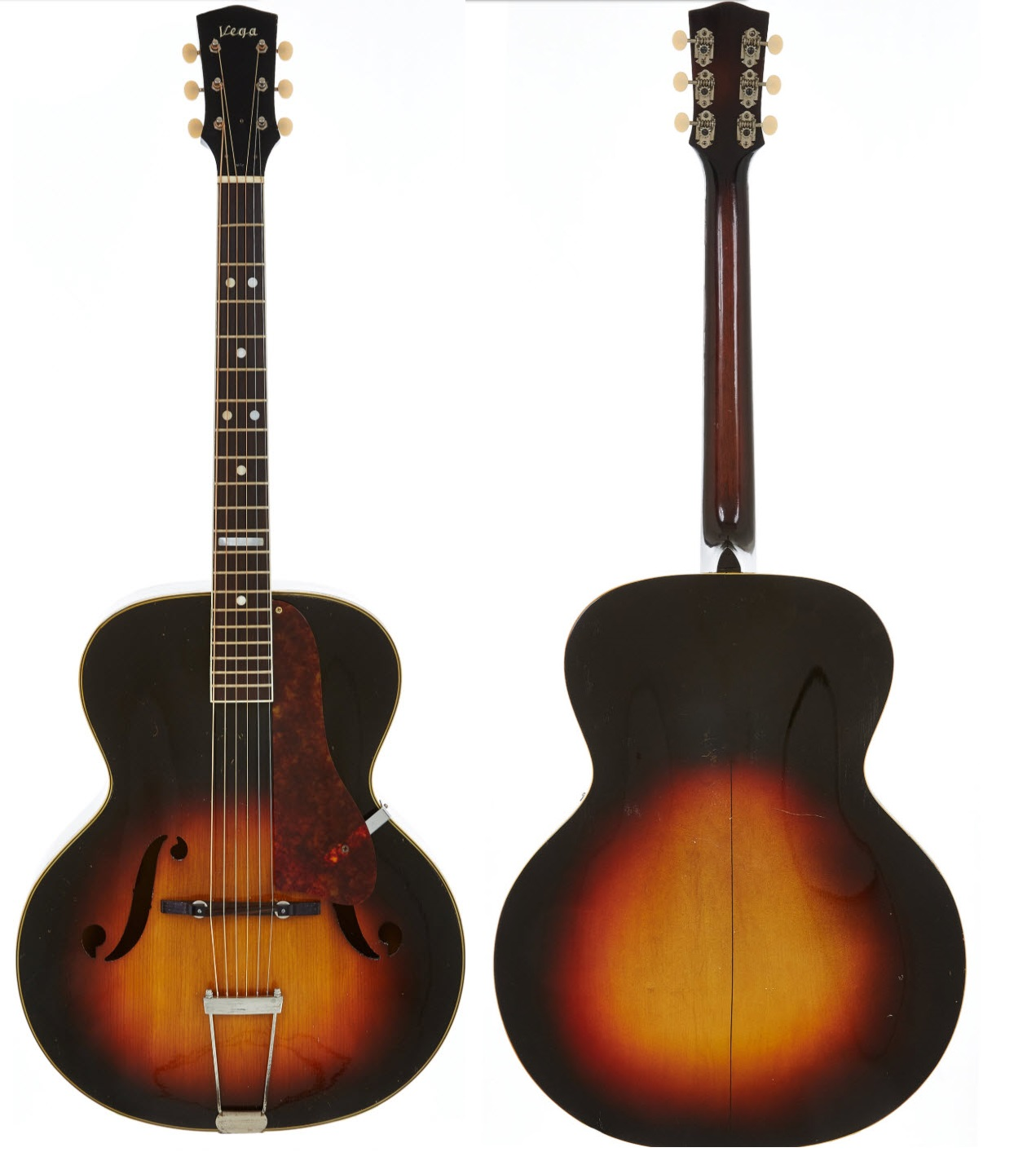 Vega Guitar c-26 Front and Back.jpg