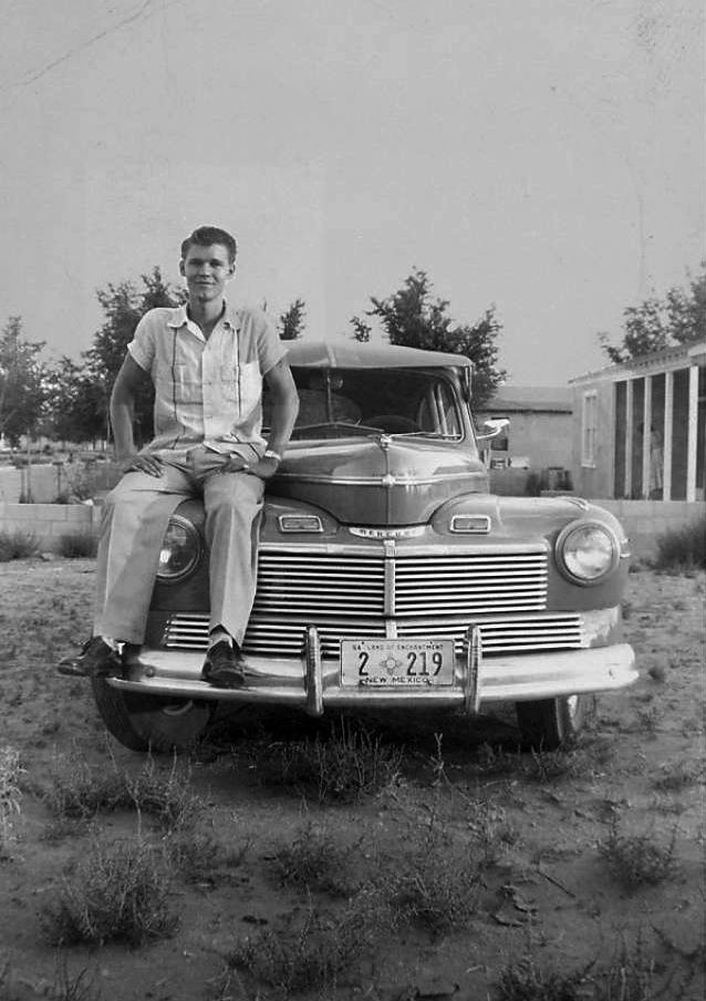 Glen Campbell and a 1942 Mercury.jpg